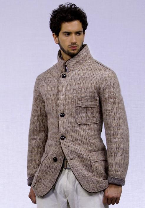 giacche ai ferri per uomo