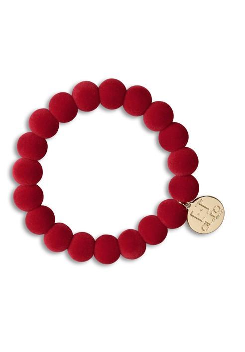 Bracelet velvet she / he