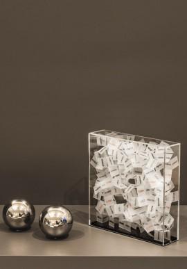 Contenitore d'identità CONSAPEVOLE Artista: Claudio Brunello