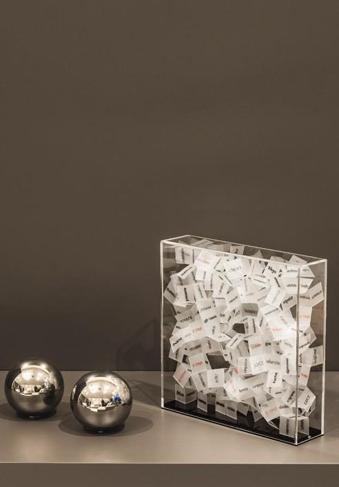 Identity Containers CONSAPEVOLE Artist: Claudio Brunello