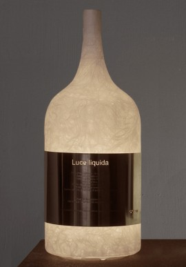 "Table lamp ""Luce Liquida"""