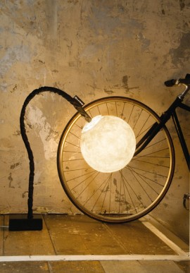"""Micro luna"" floor lamp"