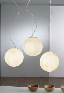 "Suspension Lamp ""Tre lune"""
