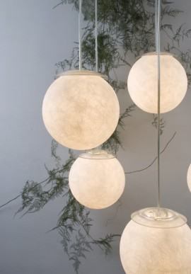 "Suspension Lamp ""Sei lune"""