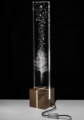 Lampada da tavolo O2 Artista: Claudio Brunello