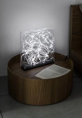 Lampada da tavolo SYNAPSE Artista: Claudio Brunello