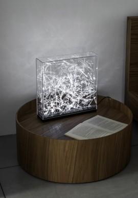 Lampada da tavolo WAYS Artista: Claudio Brunello