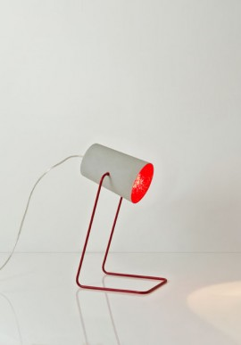 """Lampada da tavolo """"Paint T cemento"""""""