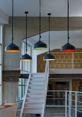 "Suspension Lamp ""Cyrcus lavagna"""