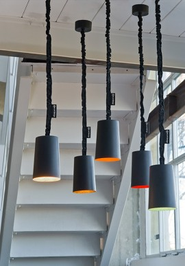 "Suspension Lamp ""Paint lavagna"""