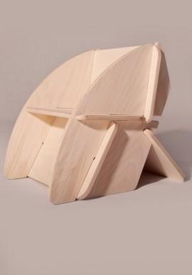 Sedia di design in legno