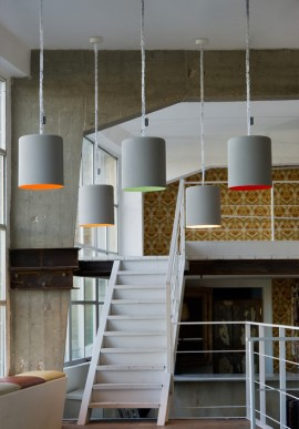 "Suspension Lamp ""Bin Cemento"""