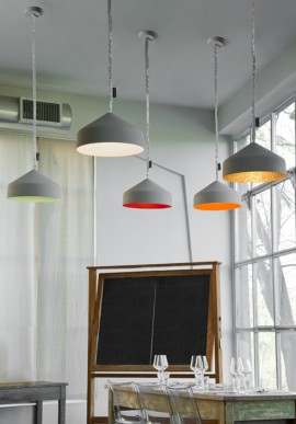 "Suspension Lamp ""Cyrcus Cemento"""