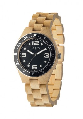 Wooden watch Amazzonia - unisex