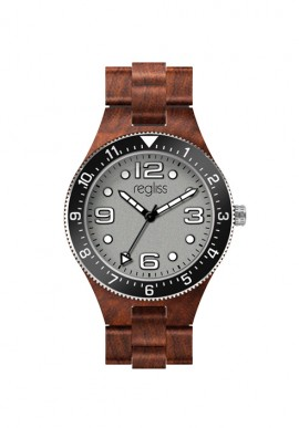 Wooden watch Madagascar - unisex