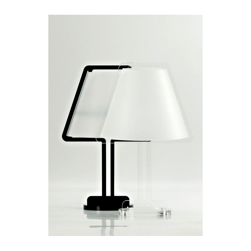 Lampada artigianale in plexiglass acquistala online su - Lampade da tavolo in plexiglass ...