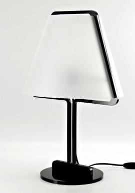 Lampada in Plexiglass B/N