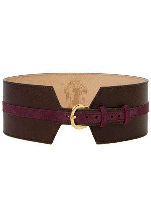 prezzo più basso 114b6 813a7 Cintura Alta Colore Prugna