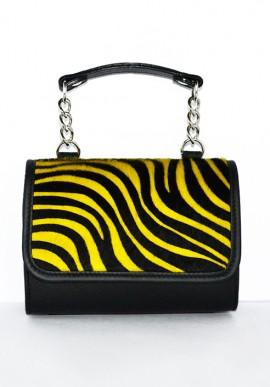 Pochette MiniME Safari gialla/nera