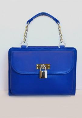 Pochette MINI - iBag Blu Elettrico