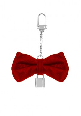 Keychain Papillon Red