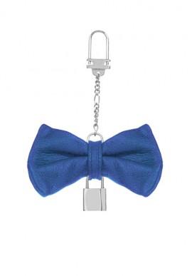 Keychain Papillon Cobalt Blue