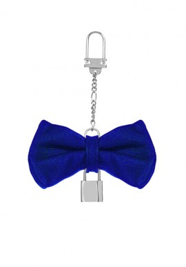 Keychain Papillon Electric Blue