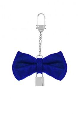 Portachiavi Papillon Blu Elettrico