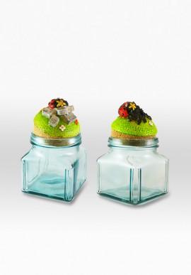 Sugar jar + cofee jar