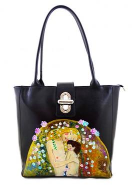 """Borsa """"Madre e figlio"""" di Klimt"""