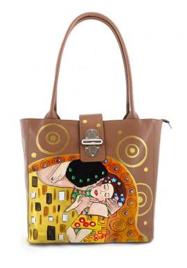 """Borsa """" Il bacio"""" di Klimt"""