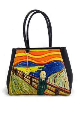 """Borsa """"L'urlo"""" di Munch"""