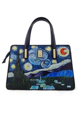 """Borsa """"La notte stellata"""" di Van Gogh"""