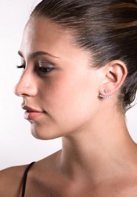 Ear Cuff con Zirconi