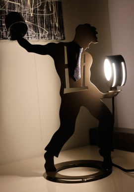 "Paper lamp - Super cool ""Igor"""
