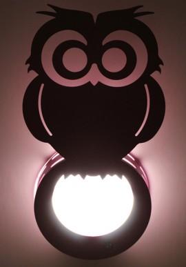 """Baru"" Violet Wall lamps"