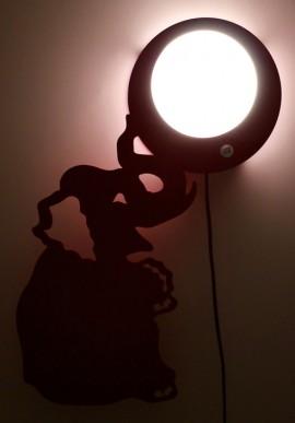 """Clara"" Green Wall lamps"