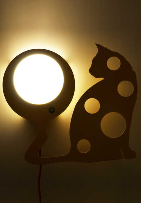 """Betty"" Violet Wall lamps"