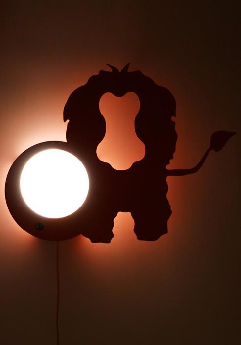 """Leo"" Orange Wall lamps"