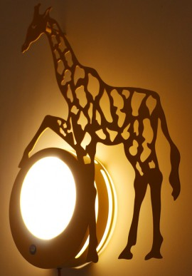 """Agata"" Violet wall lamps"
