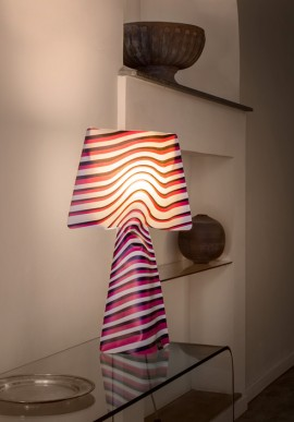 "Fabric lamp -T-Light ""Dynamics"""