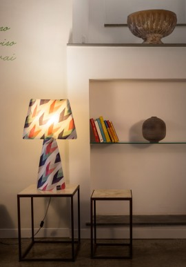 "Fabric lamp -T-Light ""La Retrò"""