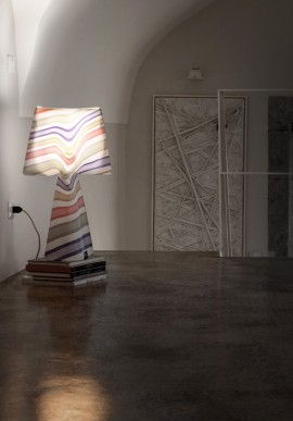 "Fabric lamp -T-Light ""La Romantica"""