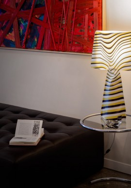"Fabric lamp -T-Light ""La Solare"""