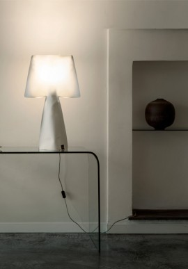 "Fabric lamp -T-Light ""La Chic"""