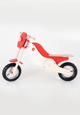 """Moto in legno """"Cross"""" per bambini"""