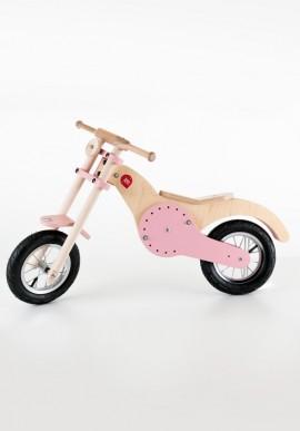 """Moto in legno """"Custom"""" per bambini"""