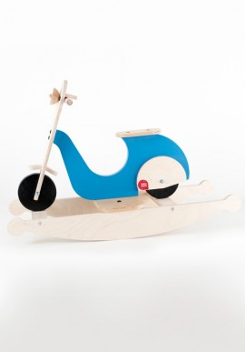 Wooden Rocking Scooter Children