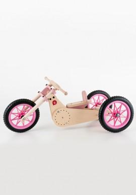 """Moto in legno """"Trike bike""""in legno per bambini"""