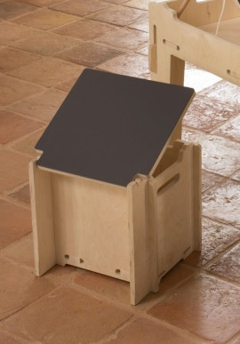Children stool with board plate